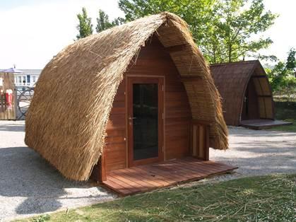 l'été Indien hutte
