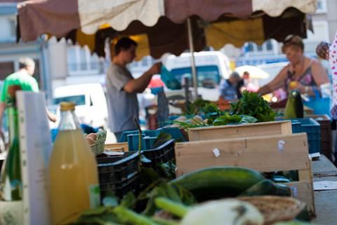 Le marché Quai Gambetta