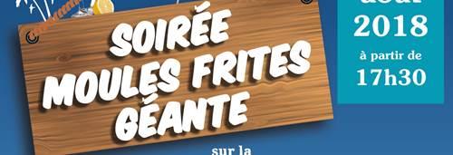 Soirée moules frites avec DJ Jeantek