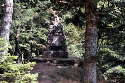 Arboretum de l'Hort de Dieu - Monument Charles Flahaut