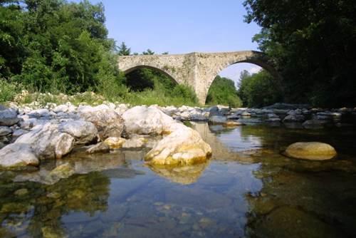 La Croix Clémentine pont des camisards Galeizon