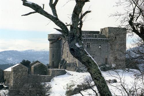 Château de Auras et Hameau de Cheylard
