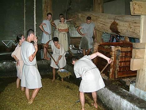 Mas Gallo-Romain des Tourelles -Foulage