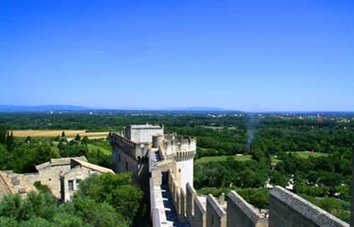 Fort Saint André - Chemin de ronde