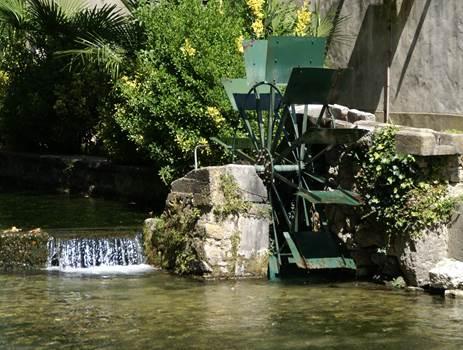 GOUDARGUES - Roue du Moulin
