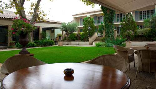 Hôtel Villa Mazarin terrasse