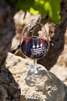 Verre vin Duché Uzès