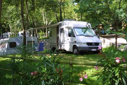 La Croix Clémentine campingcar en Cévennes