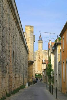 Aigues Mortes Rue Remparts