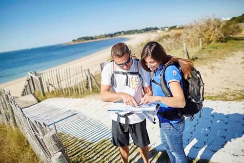 Trek Rando Golfe © Office de tourisme Golfe du Morbihan Vannes Tourisme et A. Lamoureux.