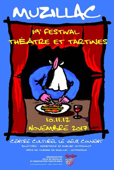 Festival Théâtre et Tartines au Centre Culturel Le Vieux Couvent