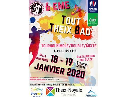 6ème Tout Theix Bad