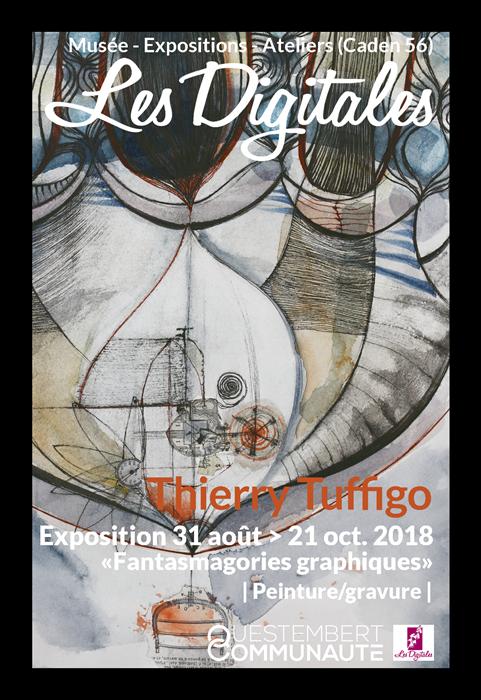 Exposition Fantasmagories Graphiques - Thierry Tuffigo
