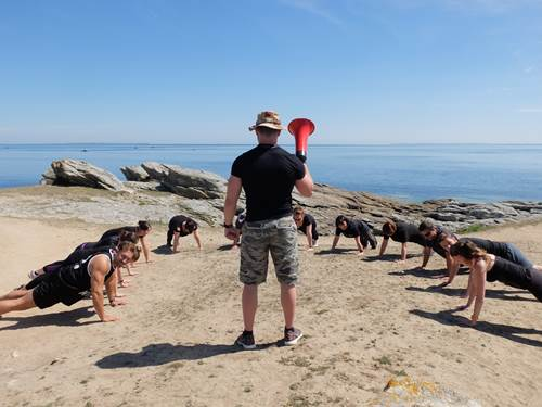 Beach Boot Camp by Sofitel Quiberon