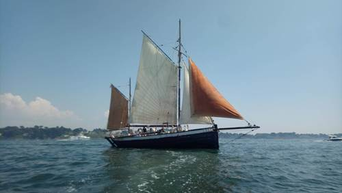 Leenan Head - Sortie en voilier traditionnel