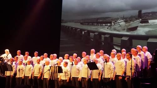 Concert de chants de marins par les Gabiers d'Artimon de Lorient