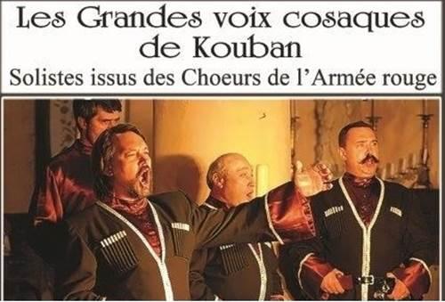 Les Grandes Voix Cosaques de Kouban en Concert