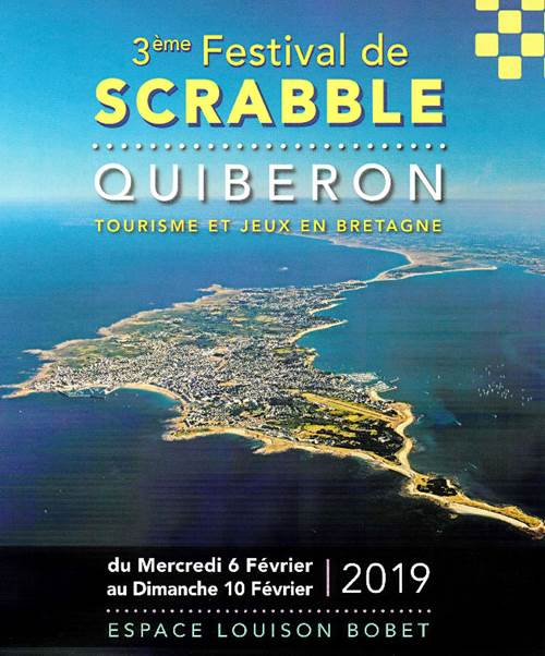3è festival international de scrabble de Quiberon