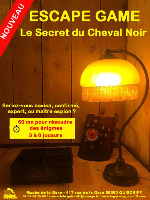 Escape game - Le secret du cheval noir