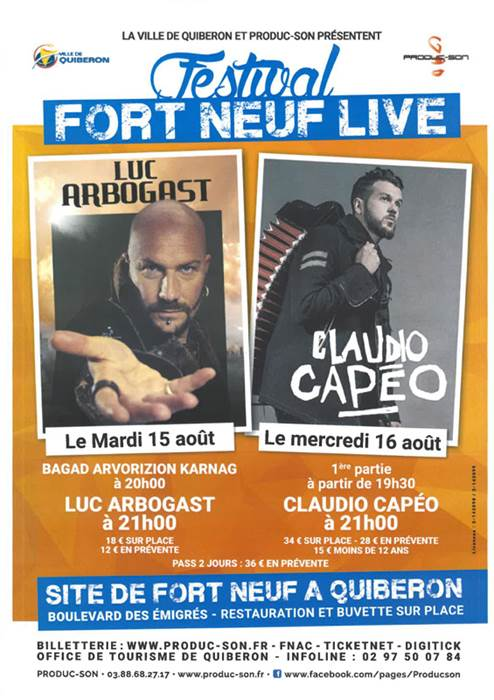 Festival Fort Neuf Live (Claudio Capéo)