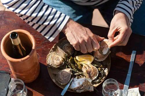 SOIREE « SALEE » :  Fruits de Mer et ...Chants de Marins avec BLB Tourisme