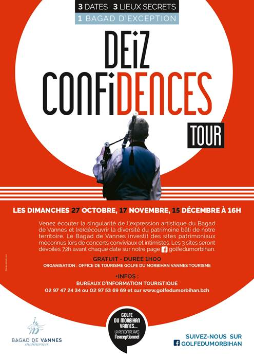 Bagad Confidences Tour