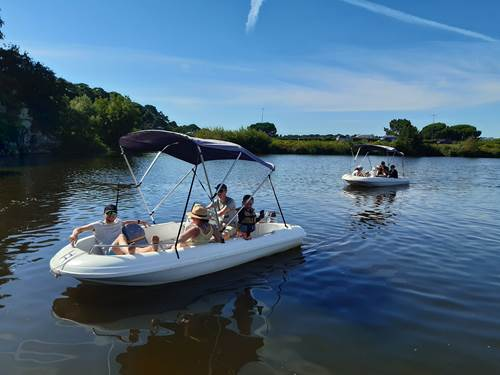Au Gré du Vent - Kayaks/paddle et bateaux à moteur avec ou sans permis au départ du barrage d'Arzal