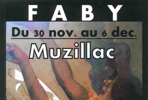 Exposition de Faby à Muzillac