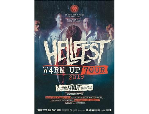Warm up Hellfest Tour 2019