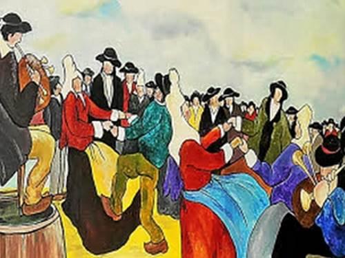 Exposition de peintures à l'huile par Alain Agrebbe
