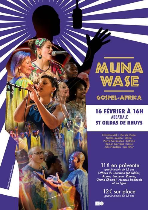 Concert Gospel Muna Wase