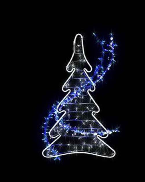 Illuminations de Noël à Coët A Tous