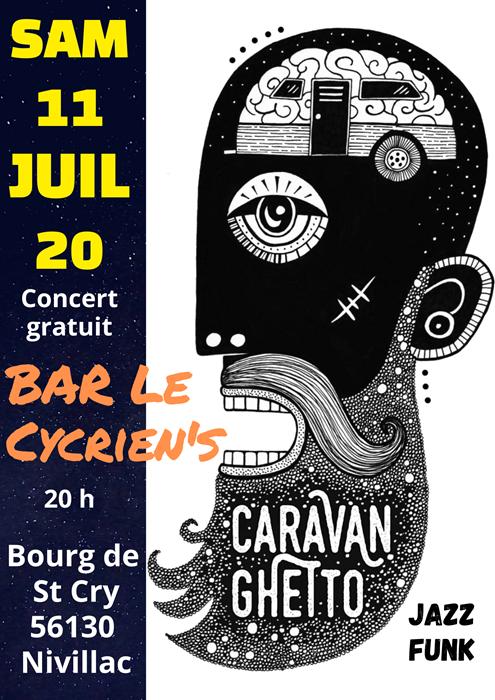 Concert au Cycrien's