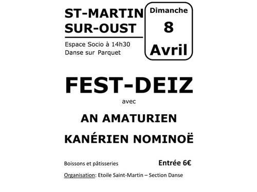 Fest Deiz à Saint Martin Sur Oust