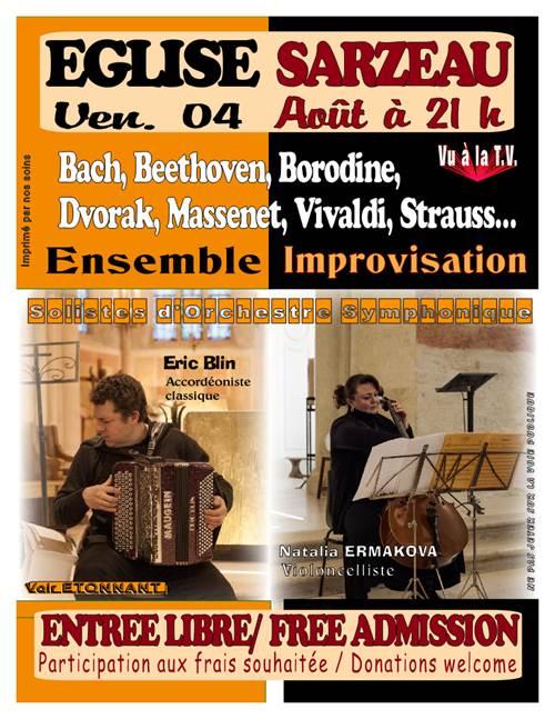 Concert de Musique Classique de l'Ensemble Improvisation