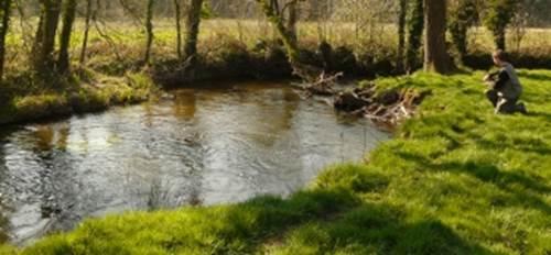 Parcours pêche Tarun à Kerbédic