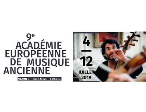 9ème Académie Européenne de Musique Ancienne : colloque
