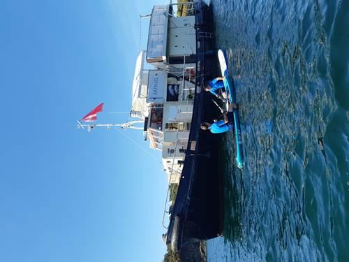 Remorqueur Arzmael - Sorties en mer