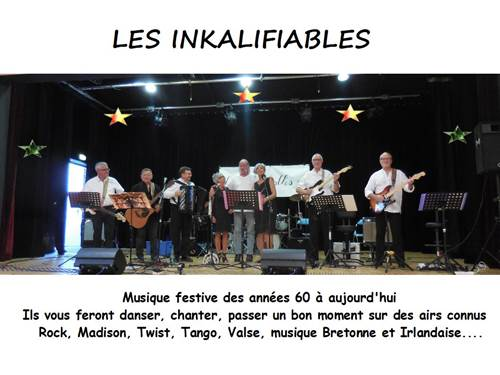 Concert Les Inkalifiables