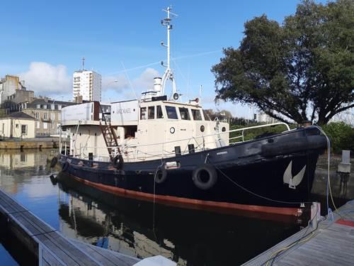 Remorqueur ARZMAEL -Croisière Hébergement sortie en mer -