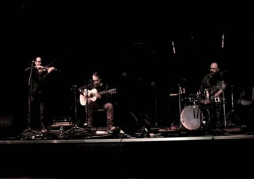 Laurent Morisson  Trio à l'Etang Moderne
