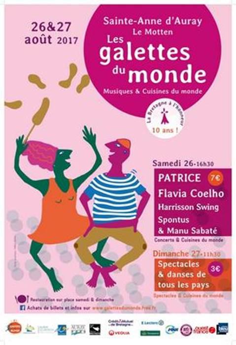 The World Pancakes Festival of Ste-Anne d'Auray