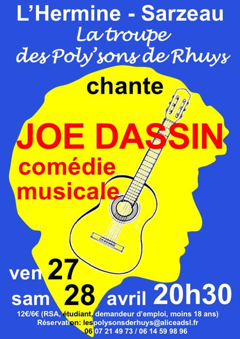 Comédie Musicale Joe Dassin