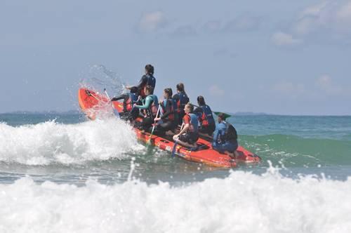 Rafting sur Paddle Géant avec Nautik Experience