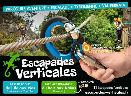 Escapades Verticales accrobranche / Location de canoës