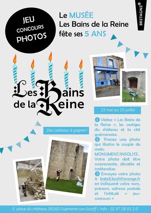 Jeu-concours photos à Guémené-sur-Scorff