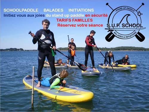 Ecole de stand up paddle Schoolpaddle
