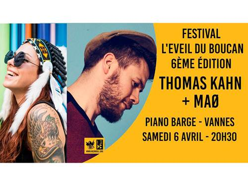 Festival l'Eveil du Boucan #6 : THOMAS KAHN + MAØ