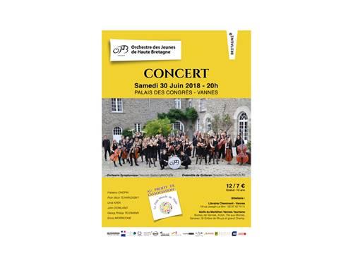 Concert de l'Orchestre des Jeunes de Haute-Bretagne