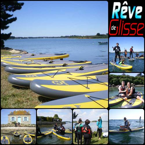 Ecole de stand up paddle - Rêve de glisse